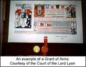 Example Grant of Arms